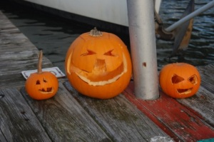 Halloween 2009 pumpkins